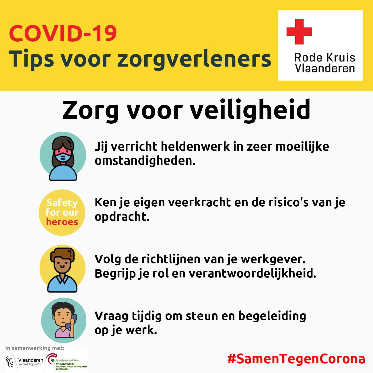 Coronavirus: zorg voor veiligheid