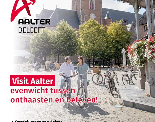 Cover brochure Visit Aalter