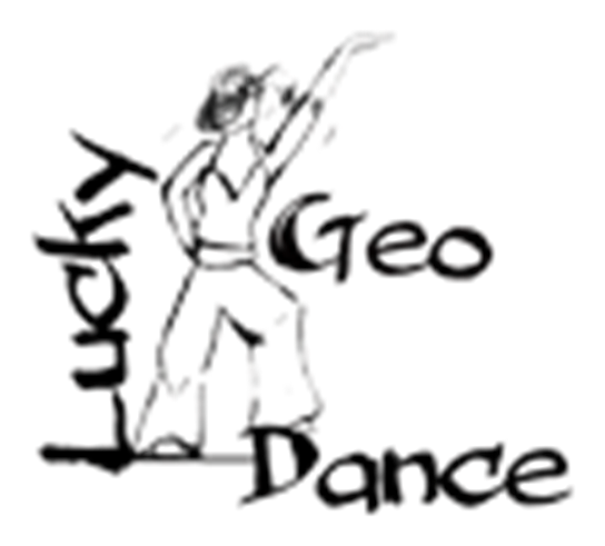grote weergave Logo Geo Lucky Dance